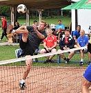 Na Habeši hráli nohejbalisté turnaj trojic.