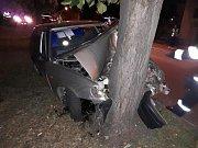 Ve středu ráno se mezi Táborem a Milevskem, konkrétně v katastru Hodušín srazila čtyři auta. Řidi