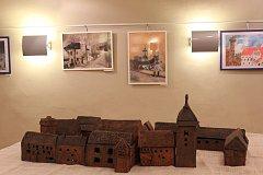 V sále U Kata jsou do 26. listopadu vystavené práve dětí z výtvarného kroužku DDM