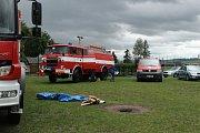 Pražák - Dne 22. června připravil Sbor dobrovolných hasičů Pražák zábavné odpoledne pro děti s názvem Den se záchranáři.
