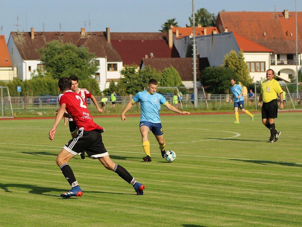 Fotbalisté Blatné v přípravě na novou sezonu.