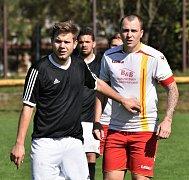 Lokomotiva ČB - Junior Strakonice 2:2.