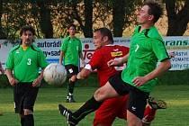 Poříčí v osmifinále krajského poháru podlehlo doma Netolicím 2:5.
