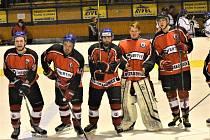Čtvrtfinále play off: HC Strakonice - HC Vimperk 4:3 po prodloužení.