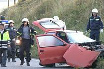 Smrtelná nehoda u Strunkovic nad Volyňkou.