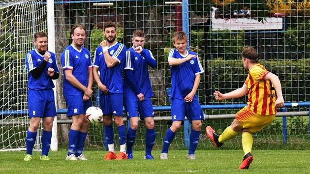 Fotbalová příprava: Junior Strakonice - Sušice 4:2. Foto: Jan Škrle