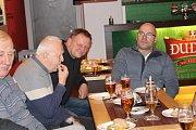Nejúspěšnější hráči Tip Lipy se sešli v Degustovně strakonického pivovaru Dudák.