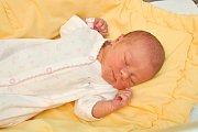 Adriana Dědová,  Boubská, 4.5.2018 v 11.35, 2990 g. Malá Adriana je prvorozená.
