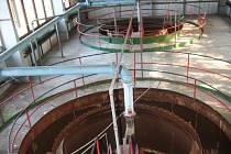 Úpravna, která bez větších potíží zásobovala část Strakonic a jejich okolí pitnou vodou.