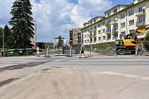 Od pondělí 14. června platí uzavírka křižovatky ulic Husova a Mírová ve Strakonicích.