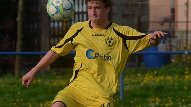 Střelec gólu David Zoubek.
