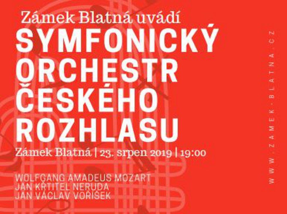 Zámek Blatná zve na koncert Symfonického orchestru Českého rozhlasu.