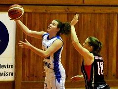 Eliška Petrušková patří mezi největší talenty současného strakonického basketbalu.