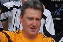 Trenér Lomu Jiří Čabrádek.