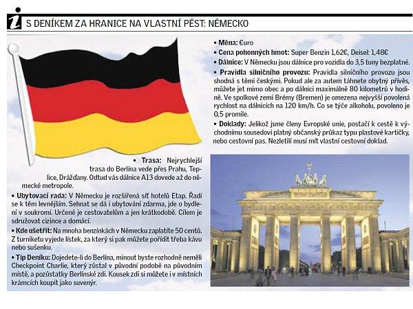SDeníkem na cestách: Německo