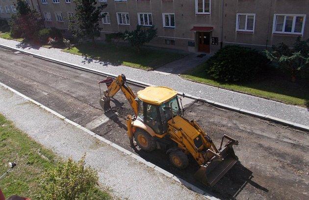 Rekonstrukce ulice Krále Jiřího z Poděbrad.