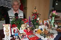 Jiřina Machníková žije v Domě s pečovatelskou službou v Radomyšli šest let. Je tam maximálně spokojená.