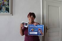 Strakonice 16. srpna - Nový iphone v soutěži vyhrála  Marie Kovářová z Lažánek