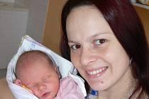 Tereza Soukupová, Drahonice, 8.1. 2017 ve 2.34 hodin, 3150 g. Osmiletá Gábinka má malou sestřičku.