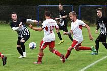 Fotbalová B třída: Bavorov - Volyně 1:0 (1:0).