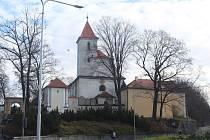 Kostel sv. Václava ve Strakonicích.