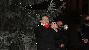 Rozsvícení vánočního stromu ve Strakonicích