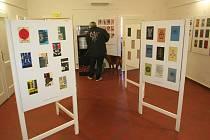 Knižní obálky nakladatelství Odeon od roku 1953 až do 1998 jsou k vidění ve Šmidingerově knihovně ve Strakonicích.