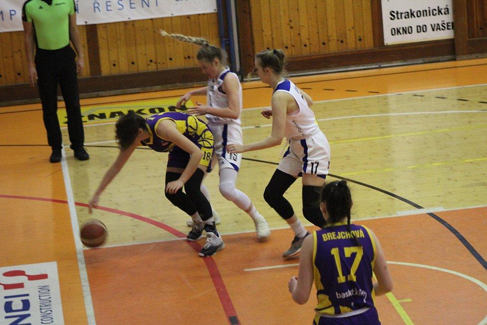Basketbalistky Strakonic zakončí sezonu v Benešově na palubovce Slovanky.
