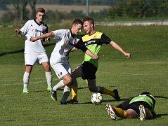 Fotbalová B třída: Osek B - Stachy 3:1.