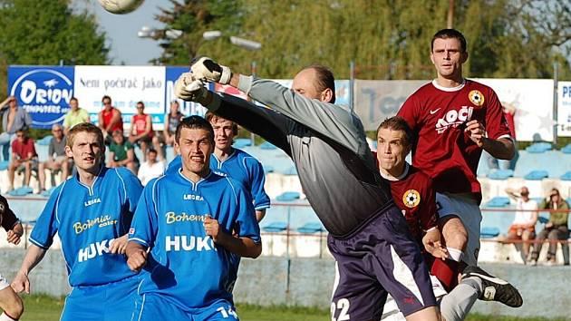 Brankář Radek Charvát věří, že Strakonice nepřijedou z utkání s Admirou s prázdnou.