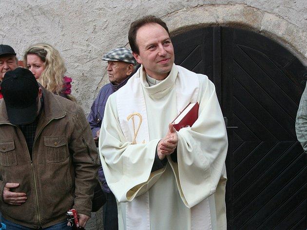 Strakonický farář Otec Roman Dvořák.