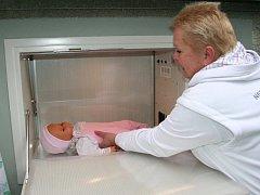 Již druhé zdravé  dítě  zachránil ve  čtvrtek 21. září v noci strakonický babybox.