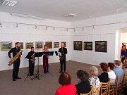 V městské galerie ve Vodňanech jste se mohli potěšit z umění.