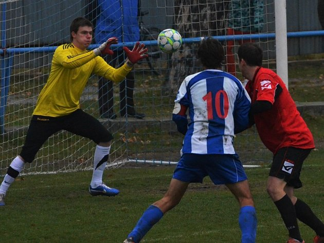 Derby Vodňany - Sedlice gól nepřineslo.