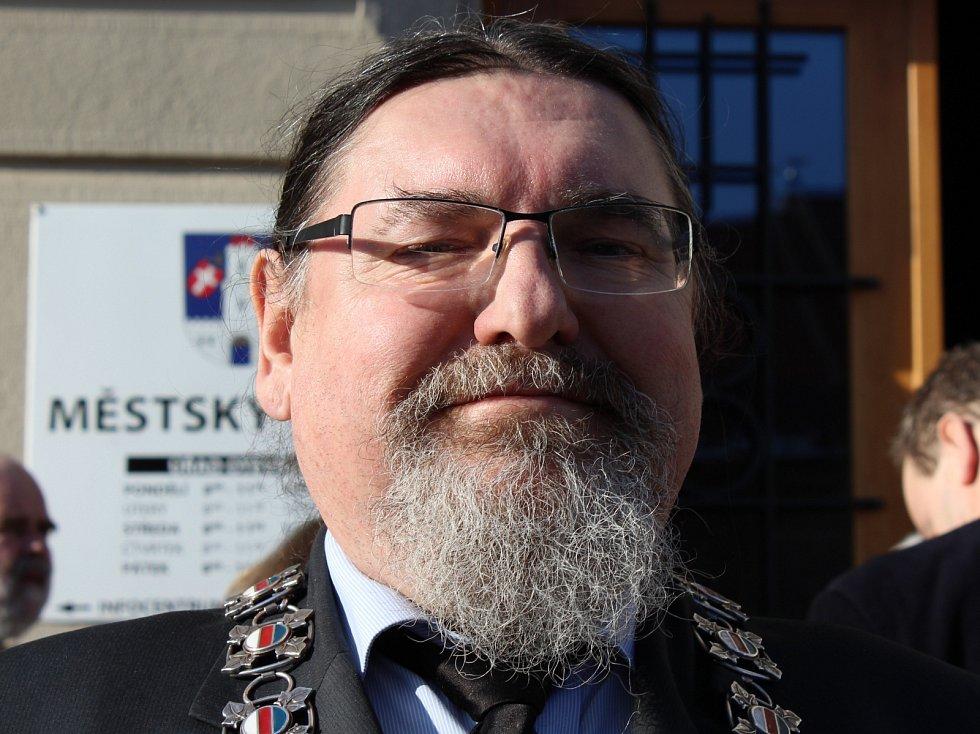 Břetislav Hrdlička (SV), starosta města Strakonice