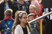 Začátek školního roku na Základní škole Bavorovská a Gymnáziu ve Vodňanech.