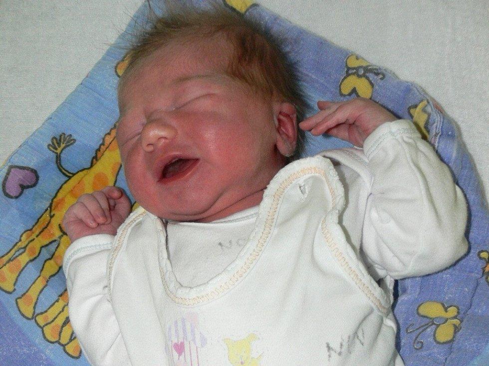 Viktorie Čadová, Pole u Blatné, 24.1. 2013 v 17.15 hodin, 3330 g. Tříletá Adélka má sestřičku.