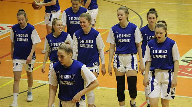 Strakonické basketbalistky si z Chomutova přivezli porážku o dvacet bodů.