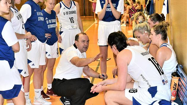 Strakonické basketbalistky čekají boje v play out.