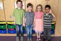 Děti z Mateřské školy Řepice.