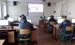 Střední odborné učiliště v Blatné má novou učebnu výpočetní techniky.