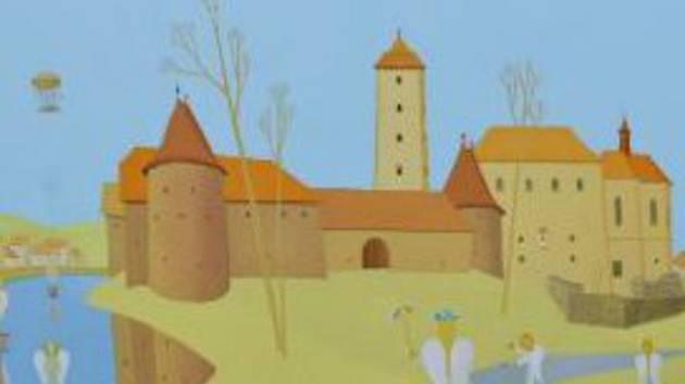 Výstava Valentina Horby ku příležitosti jeho 45 let jeho tvorby bude vidět v knihovně ve Strakonicích.