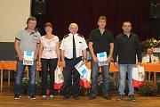 Vyhodnocení hasičských soutěží.