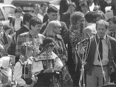 Václav Havel, Strakonice 1990