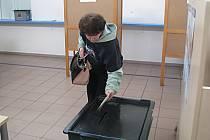 Nahlédnutí do volební místnosti