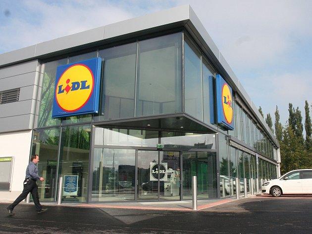 Prodejna Lidl ve Strakonicích. Ilustrační foto