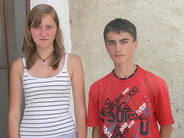 Růžena Jirsová a Patrik Hrazdira.
