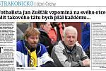 Jan Zušťák vzpomíná na svého otce.