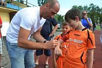 Turnaj v Blatné navštívil Jan Koller.