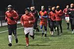 Fotbalisté Junioru Strakonice v pondělí začali zimní přípravu.